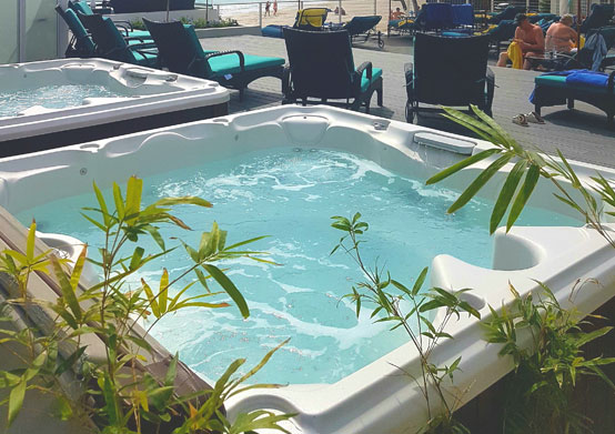 Adults Only Jacuzzis at Sea Breeze Beach House Christ Church Barbados