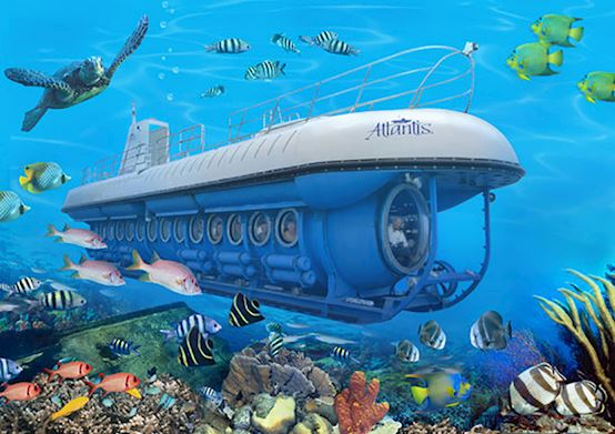 Atlantis Submarine at Christ Church, Barbados