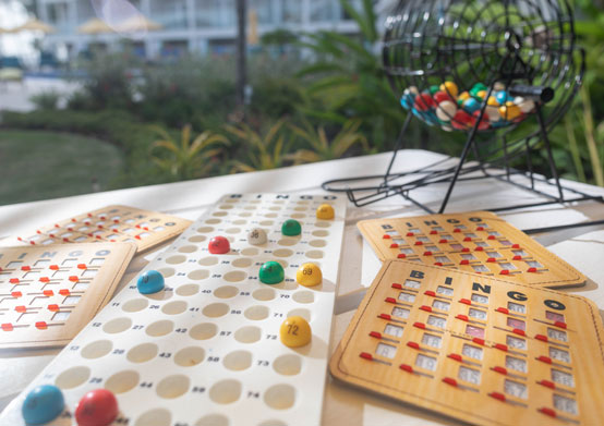 Bingo at Sea Breeze Beach House Christ Church, Barbados
