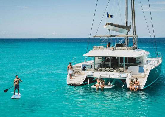 Catamaran Cruises at Sea Breeze Beach House Christ Church, Barbados