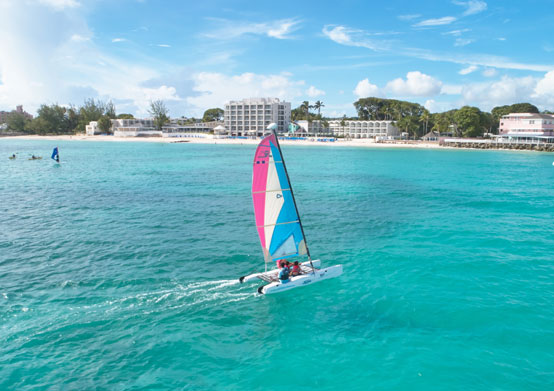 Hobie Cat at Sea Breeze Beach House Christ Church, Barbados