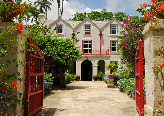 St. Nicholas Abbey at Sea Breeze Beach House Christ Church, Barbados