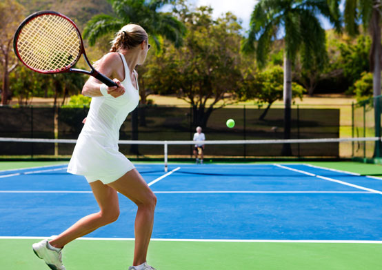 Tennis at Christ Church, Barbados