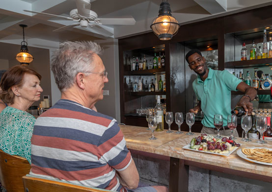 Wine Tasting at Sea Breeze Beach House Christ Church, Barbados