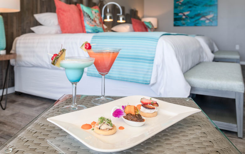 Chef's Table left Snippet at Sea Breeze Beach House Christ Church Barbados