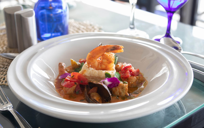 Chef's Table right Snippet at Sea Breeze Beach House Christ Church Barbados