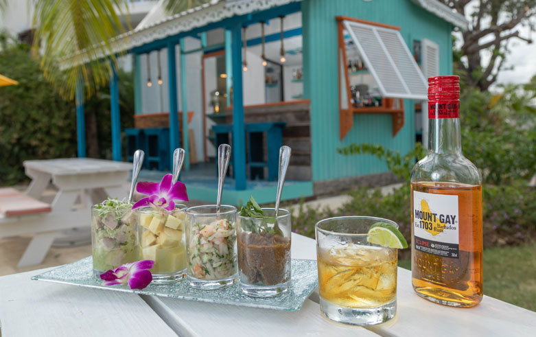De Rum Shop Café right Snippet at Sea Breeze Beach House Christ Church, Barbados