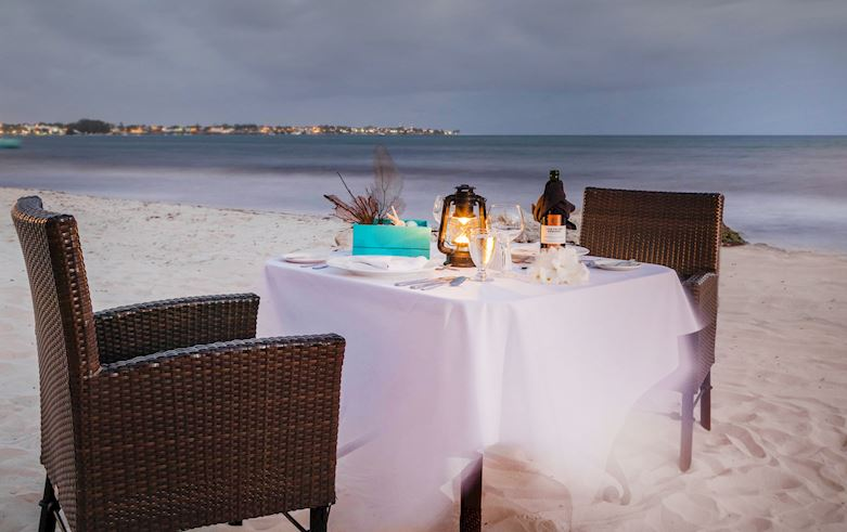 Bespoke Dining right Snippet at Sea Breeze Beach House Christ Church, Barbados