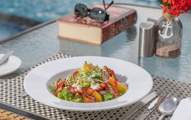 Sample ImageThe Flying Fish Bar & Grill left Snippet at Sea Breeze Beach House Christ Church, Barbados