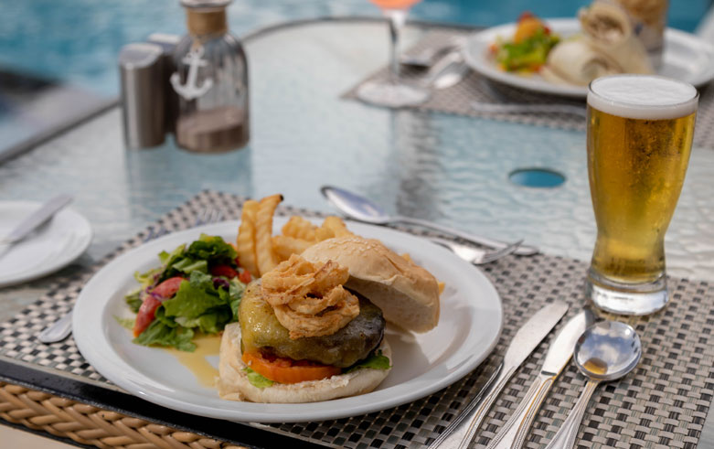 The Flying Fish Bar & Grill right Snippet at Sea Breeze Beach House Christ Church, Barbados
