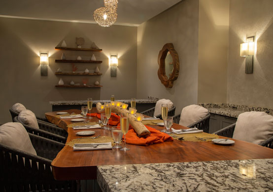 Chef's Table at Sea Breeze Beach House Christ Church, Barbados