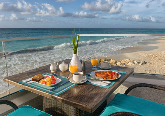 Food & Drink at Sea Breeze Beach House Christ Church Barbados