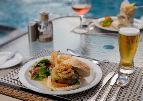 The Flying Fish Bar & Grill at Sea Breeze Beach House Christ Church, Barbados