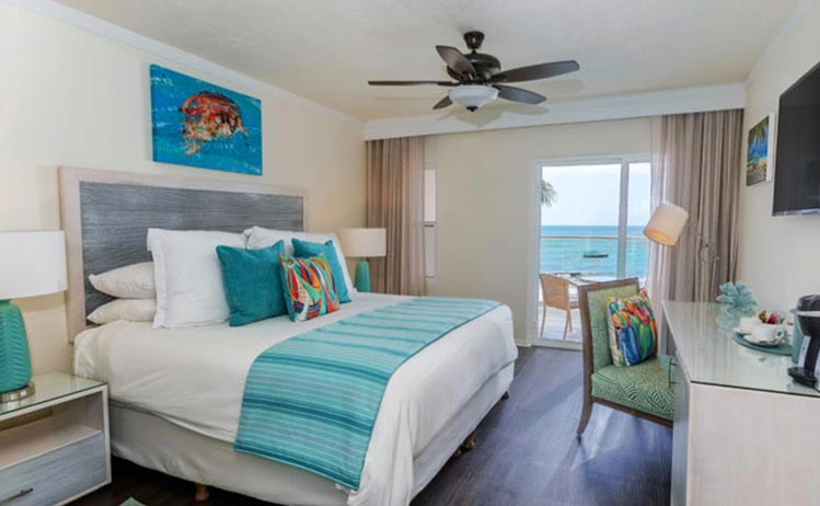 Oceanview Room at Sea Breeze Beach House Christ Church, Barbados