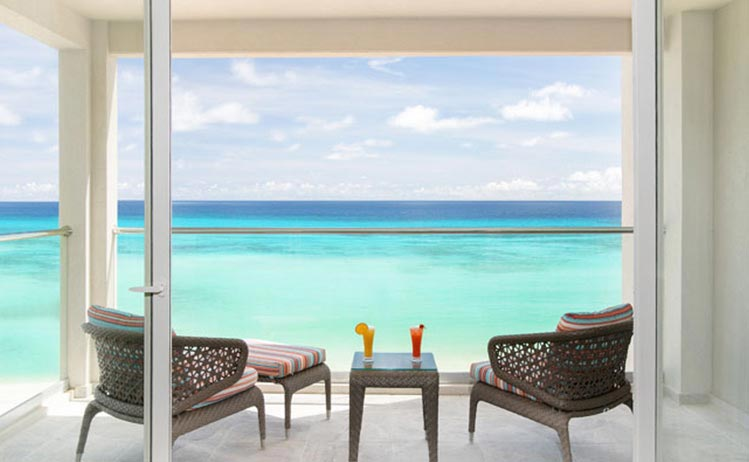 Two Bedroom Oceanfront Suite room at Sea Breeze Beach House Christ Church, Barbados