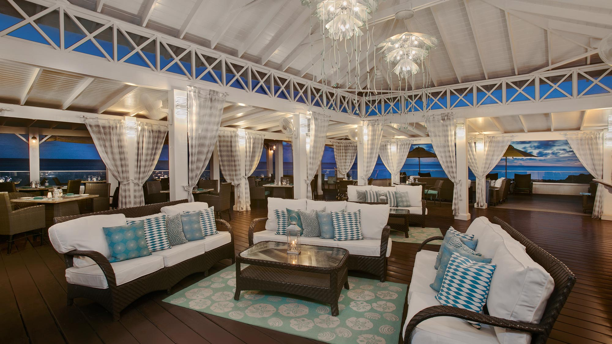 Aqua Terra Restaurant & Bar at Sea Breeze Beach House Christ Church, Barbados