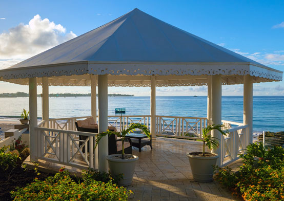 Gazebo at Sea Breeze Beach House Christ Church, Barbados